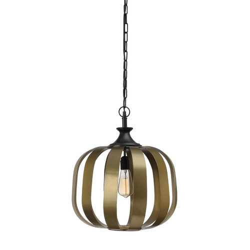 Berlin Antique Brass Pendant Light