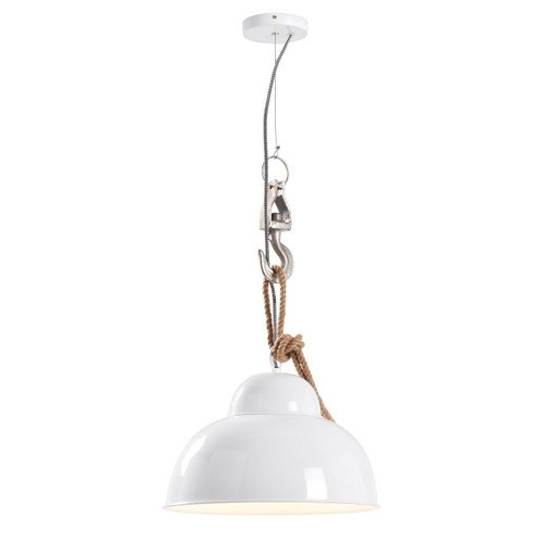 Blitz Industrial Rope Pendant Light