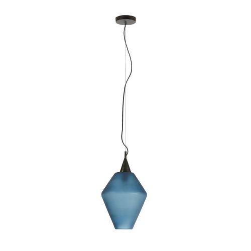 Dortmund Glass Pendant Light - Blue