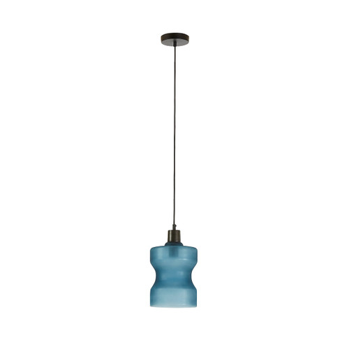 Frank Glass Pendant Light - Blue