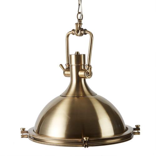 Kaiden Metal Pendant Light - Brushed Brass