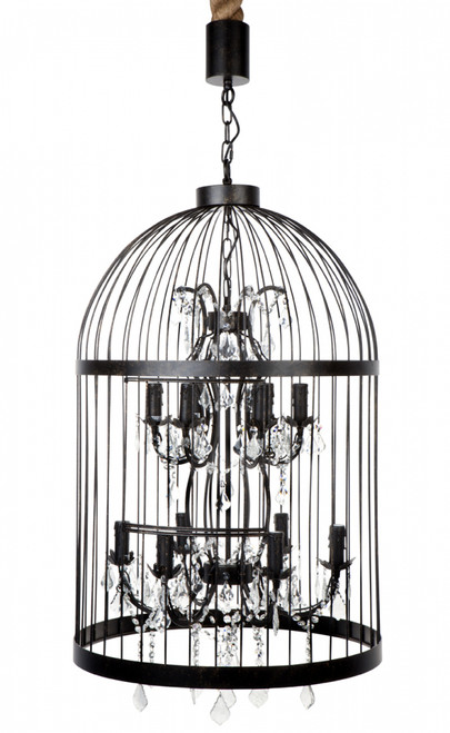 Macaw 12 Arm Chandelier