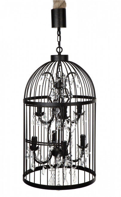 Macaw 8 Arm Chandelier