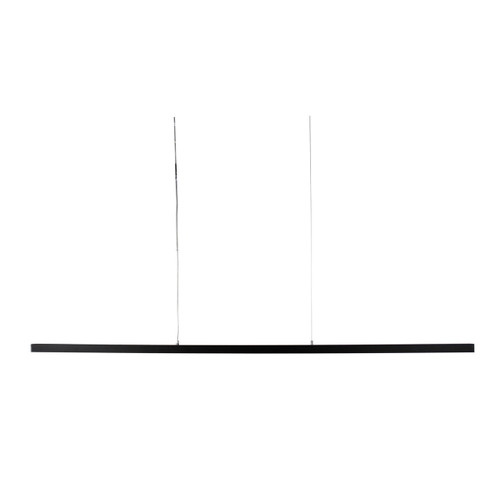 Shard Slimline LED Pendant Light - Black