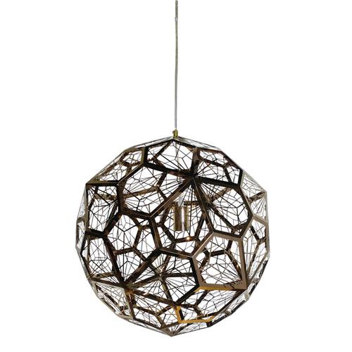 Net Pendant Light - Copper