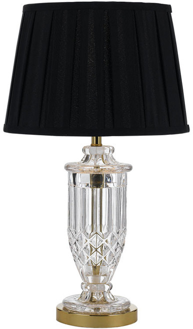 Intricate Glass Table Lamp