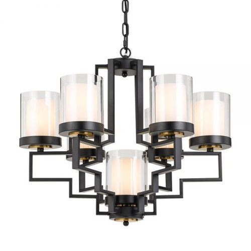 Alvarez 6 Light Candle Chandelier