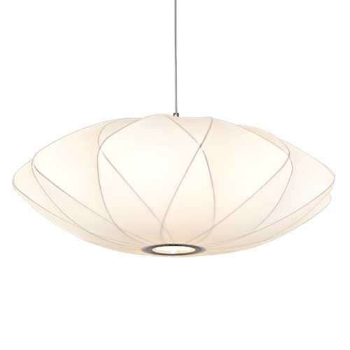Replica Criss Cross Cocoon Polyresin Pendant Light
