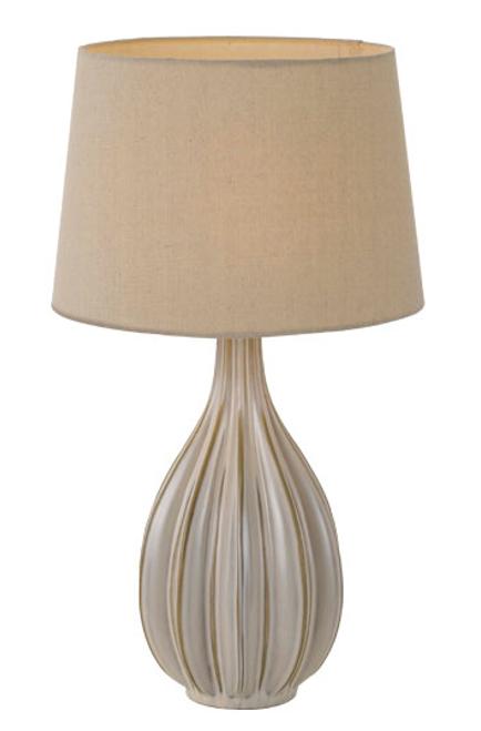 Avero Ceramic Table Lamp - Champagne