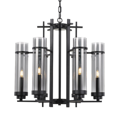 Gotham 6 Light Pendant Chandelier