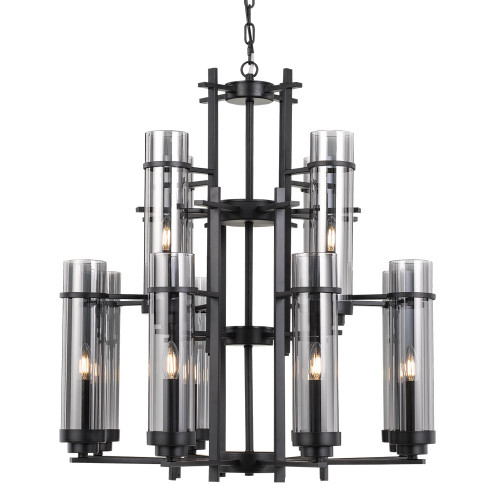 Gotham 8 Light Pendant Chandelier