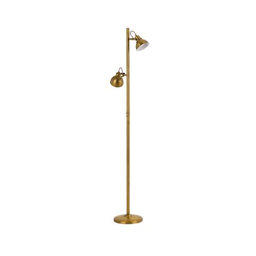 Carson Floor Lamp - Antique Brass