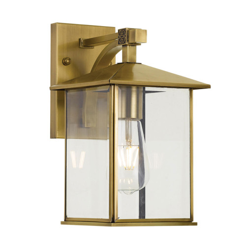 Cambridge Brass Exterior Wall Lamp