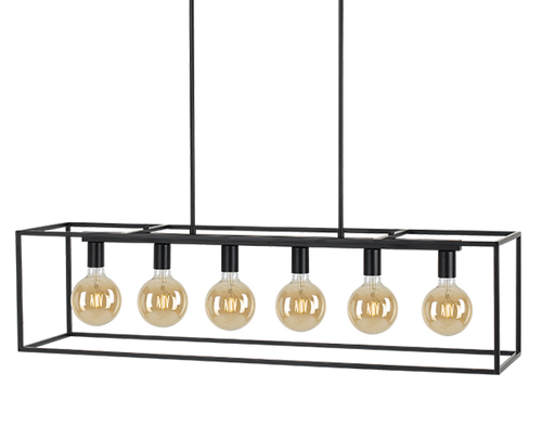 Go 6 Light Bar Island Pendant Light