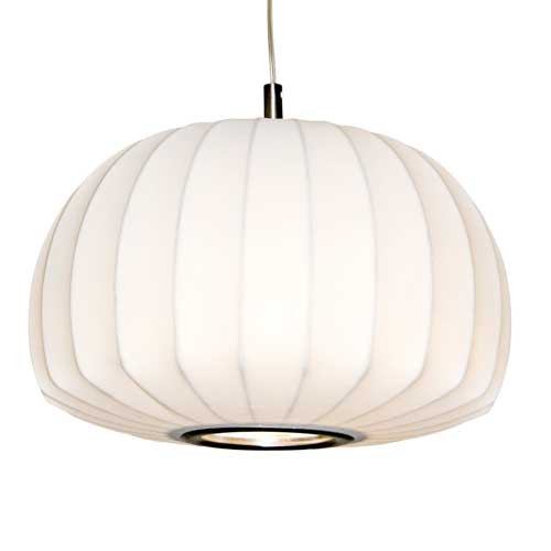 Coote Cocoon Round Drum Pendant Light