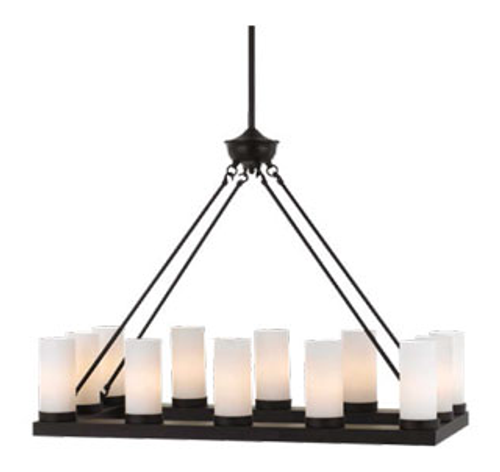 Cutler 12 Light Candle Chandelier