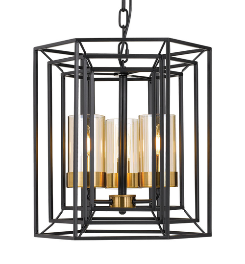 Havana 3 Glass Candle Pendant Light