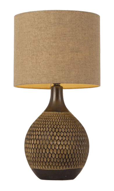 Feather Ceramic Table Lamp