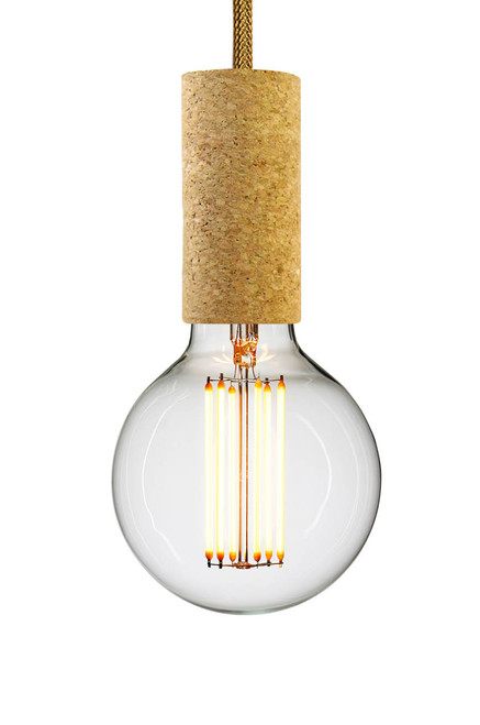 NUD Cork Pendant Light - Sand