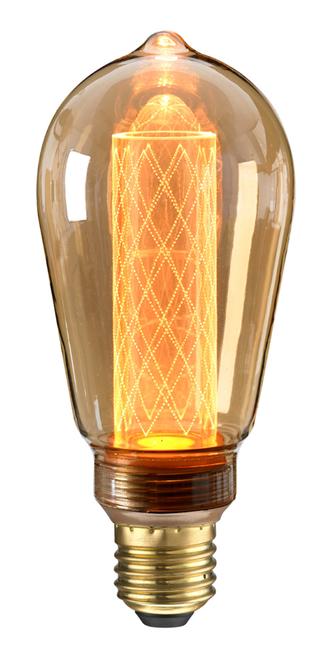 Circus E27 2.5W Amber LED Bulb