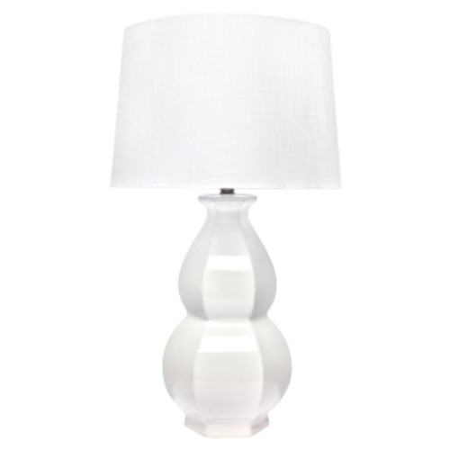 Erica Table Lamp - White