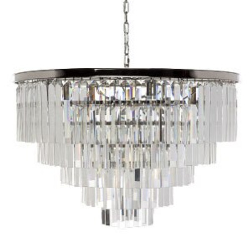 Collete Four Tier Crystal Pendant Chandelier