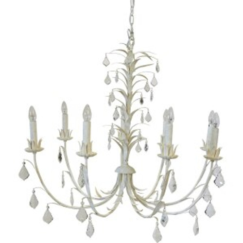 Ophelia 8 Arm Coastal Chandelier