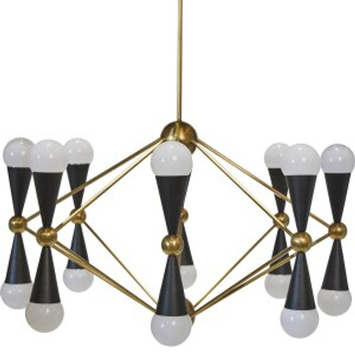 Quincy 16 Arm Chandelier