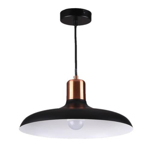 Nasa Dome Pendant Light - Black