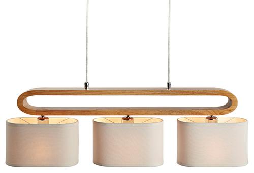 Emiko 3 Light Modern Pendant Lamp