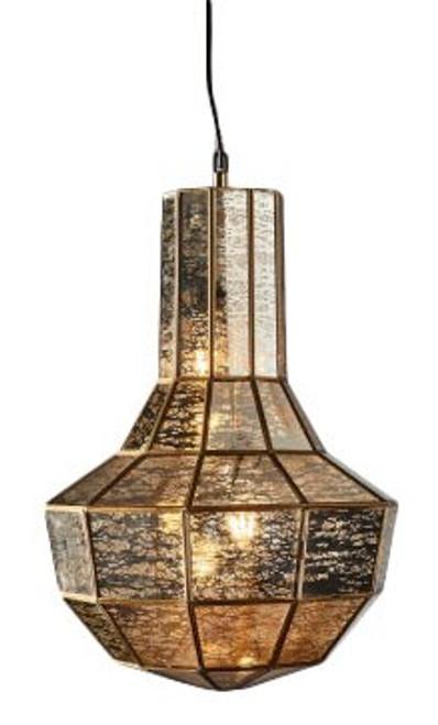 Enchantress Brass Hanging Pendant Lamp