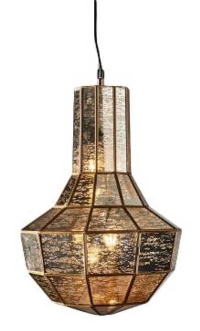 Enchantress Brass Hanging Pendant Lamp