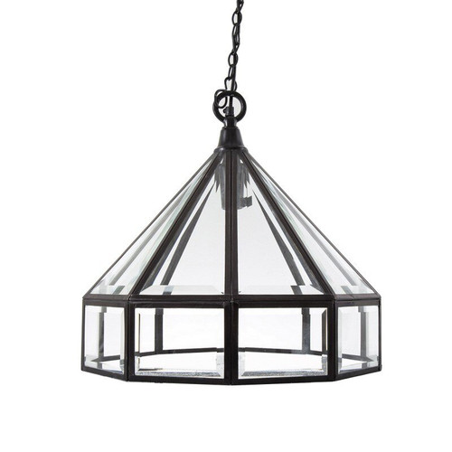 Harper Glass Lantern Lamp