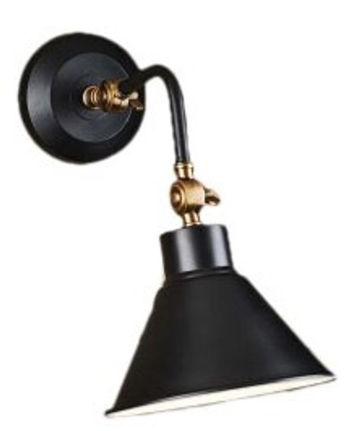 Nevada Black Interior Wall Lamp