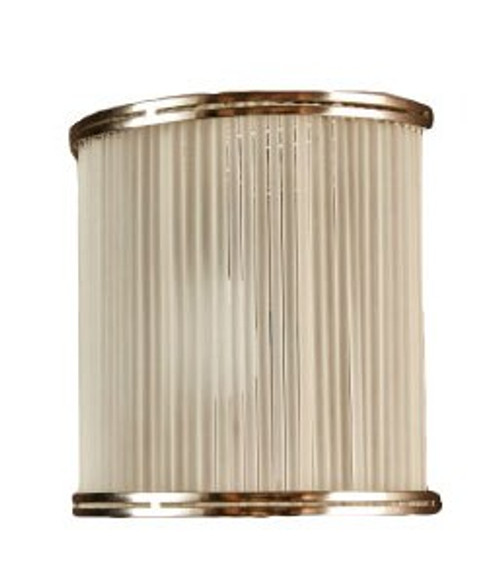 Inanda Half Round Wall Light - Lights Off