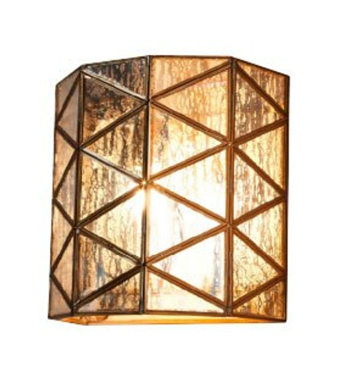 Butterworth Half Round Glass Wall Light