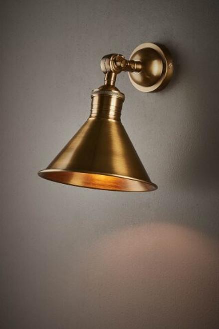 Vetura Indoor Wall Light - Brass