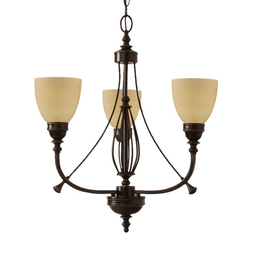 Industry 3 Light Tempe Chandelier