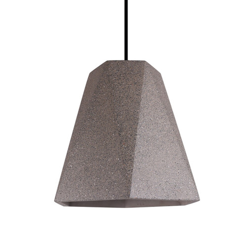 Polygon Cement Pendant Light
