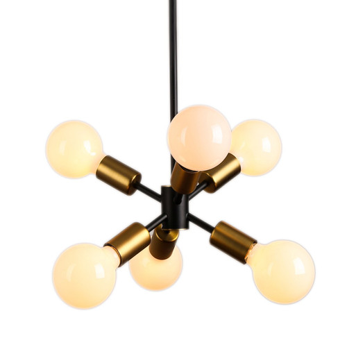Cluster Sputnik 6 Light Pendant Chandelier Light