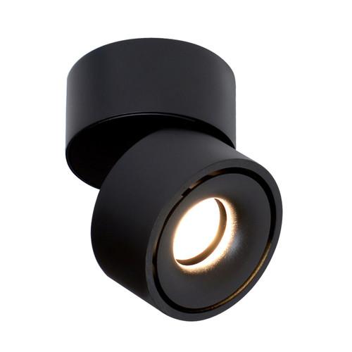 Designer Surface Mount Adjustable Downlight - Black