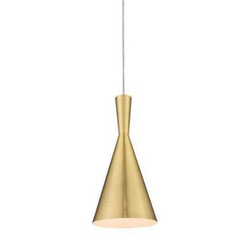 Ruby Brass Pendant Light