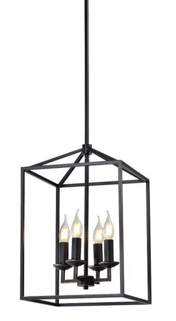 Franklin Industrial Caged 4 Light Pendant Light