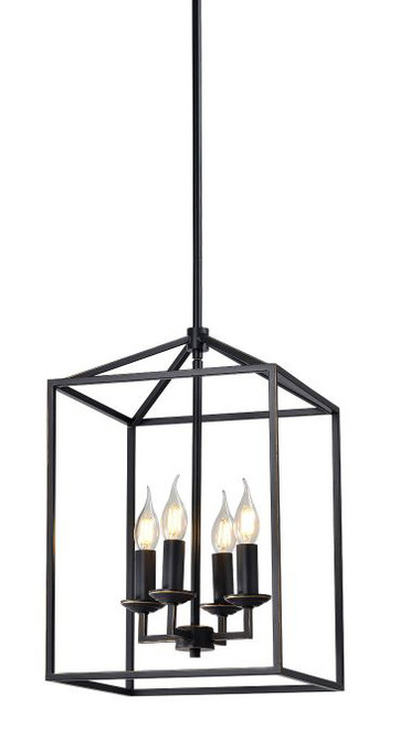 Franklin Industrial Caged 4 Light Pendant Light