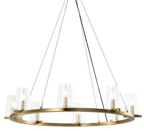 Canova Fortress 8 Light Round Chandelier