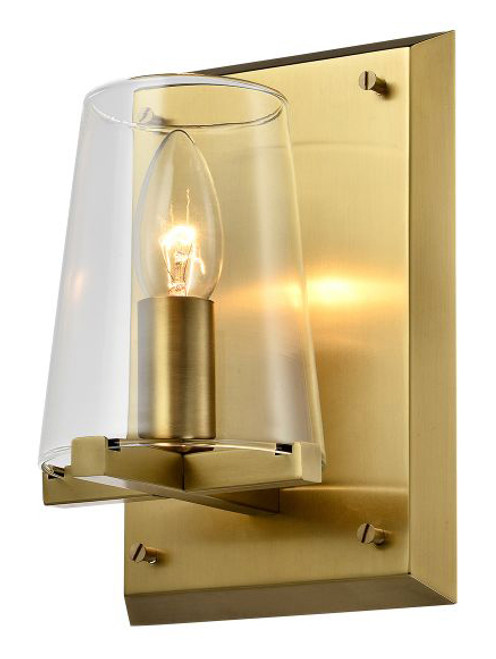 Canova Vintage Glass Wall Sconce