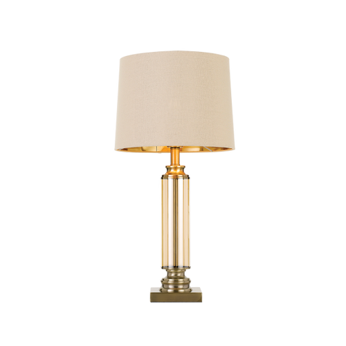 Dorcel Table Lamp Antique Brass