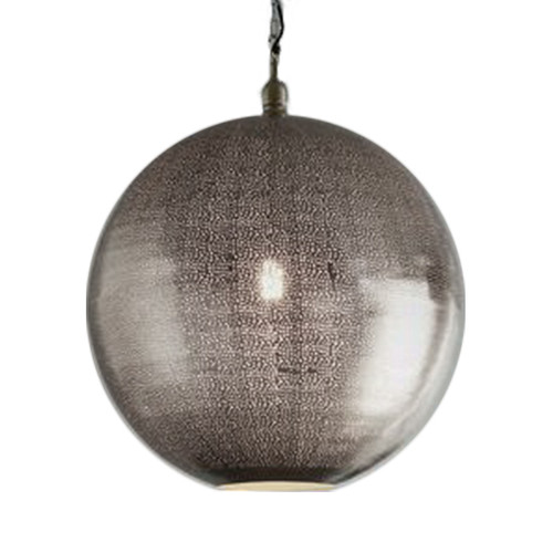 Jupiter Nickel Ball Pendant Light