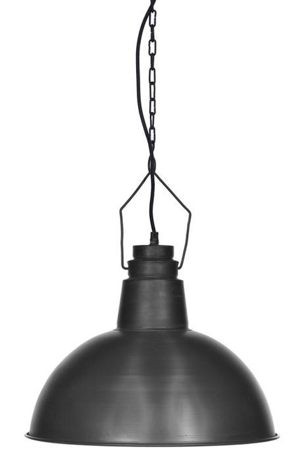 Napean Raw Iron Dome Pendant Light