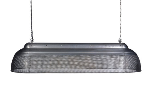 River Extra Long Linear Zinc Pendant Light